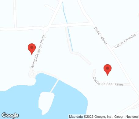 Karta - Camp de Mar
