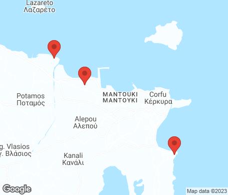 Kart - Korfu by