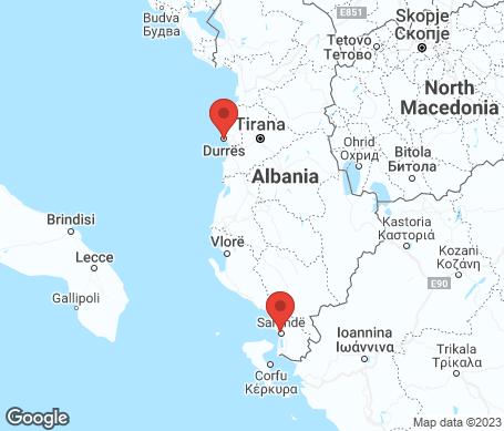 Kartta - Albania
