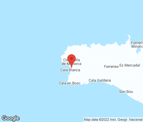 Kartta - Cala Santandria