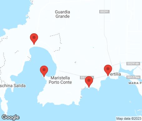 Kartta - Porto Conte