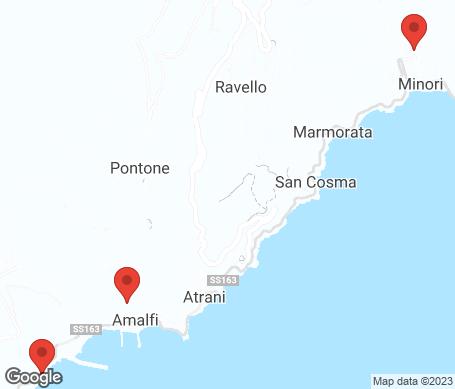 Kartta - Amalfi