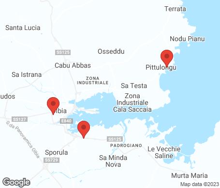 Kartta - Olbia