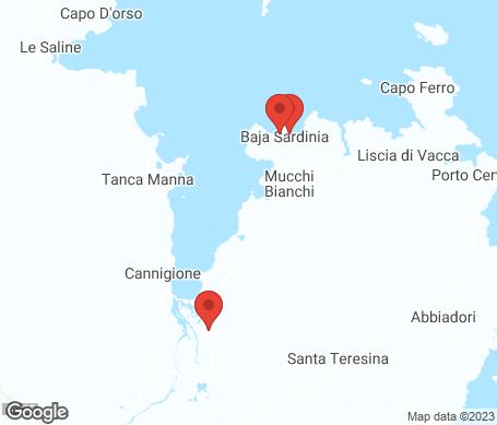 Kartta - Baia Sardinia