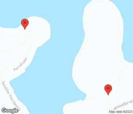 Kartta - Korcula