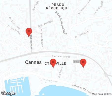 Kartta - Cannes
