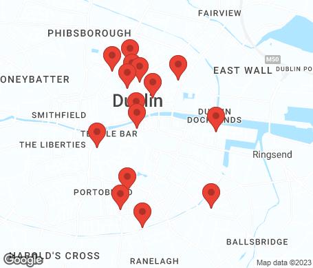 Kartta - Dublin