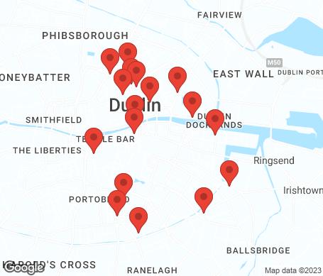 Kort - Dublin