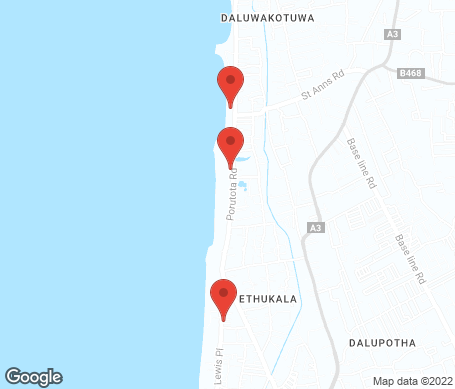 Kort - Negombo