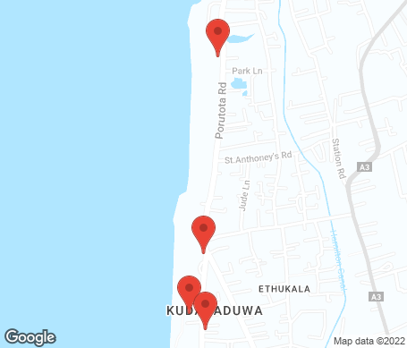 Kartta - Negombo
