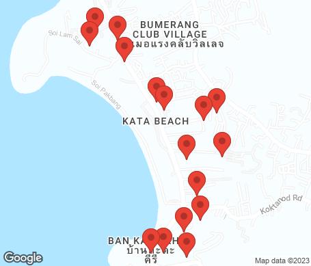 Kort - Kata Beach