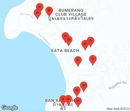 Karta - Kata Beach