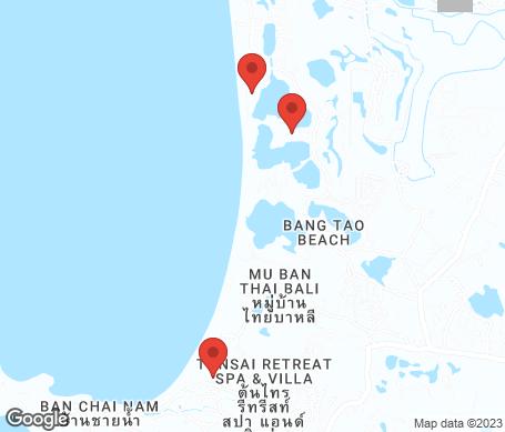 Kartta - Bangtao Beach