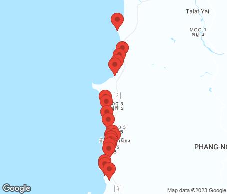 Kartta - Khao Lak