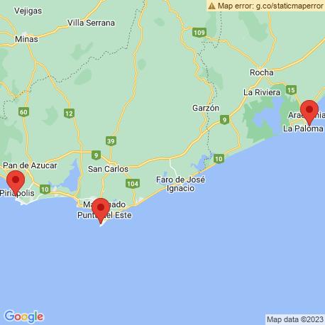 Карта рыбалки – Уругвай