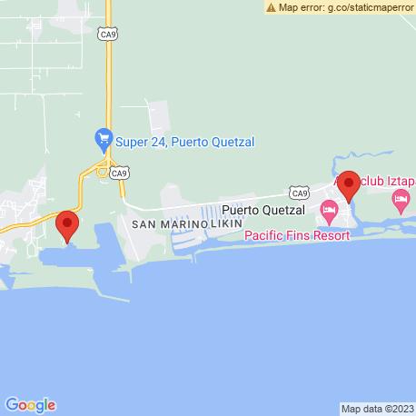 Карта рыбалки – Пуэрто Сан Хосе
