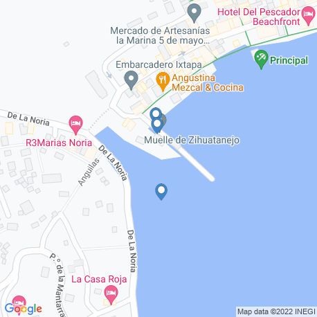 Карта рыбалки – Герреро
