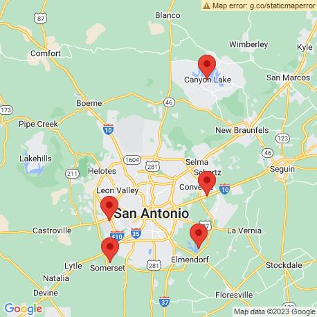 Карта рыбалки – Сан Антонио