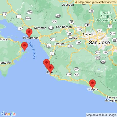 Карта рыбалки – Плайя Эррадура