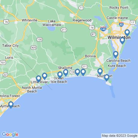 Карта рыбалки – Shallotte