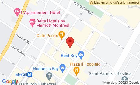 463 Rue Sainte-Catherine O, Montréal, QC H3B 1B1, Canada