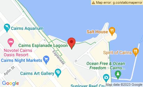 Cairns Esplanade Lagoon, Esplanade, Cairns City, Queensland