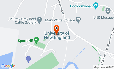 University of New England, Armidale, New South Wales