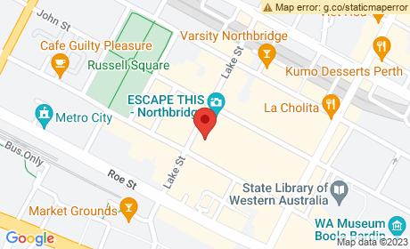 Northbridge Piazza, Lake Street, Northbridge, Western Australia