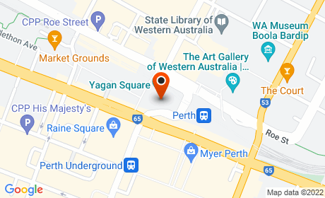 Yagan Square, Wellington Street, Perth WA, Australia