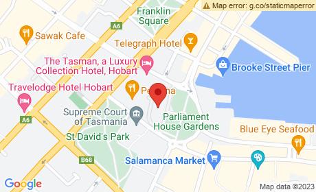 Parliament House, Salamanca Place, Hobart, Tasmania