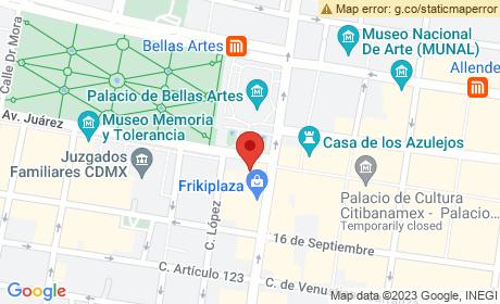 Av. Juárez 8, Colonia Centro, Centro, Mexico City, CDMX, Mexico