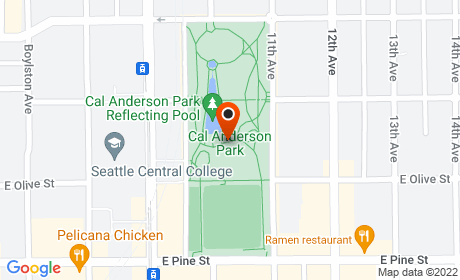 Cal Anderson Park and Bobby Morris Playfield, 11th Avenue, Seattle, WA, USA