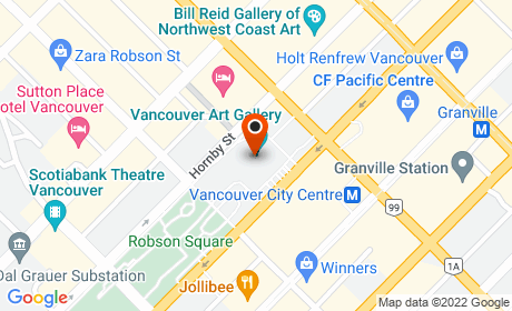 Vancouver Art Gallery, Hornby Street, Vancouver, BC, Canada
