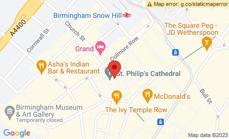 Birmingham Cathedral, Colmore Row, Birmingham, UK