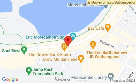 Eric Morecambe Memorial, Morecambe, UK