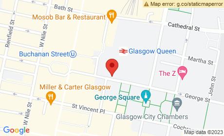 George Square, Glasgow, UK
