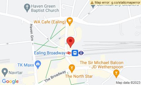 Ealing Broadway London Underground Station, The Broadway, London