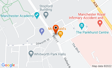 413 Oxford Rd, Manchester M13 9PG, UK