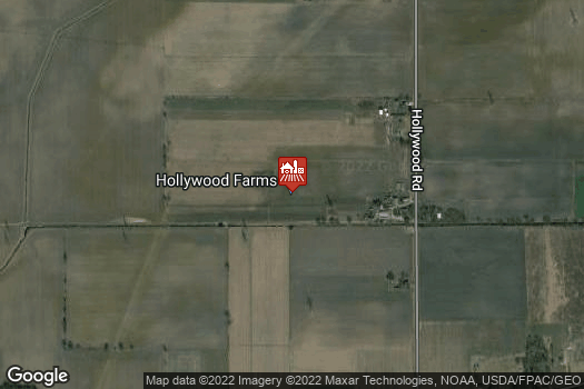 Location Map for Hollywood Farms