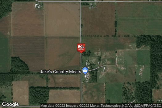 Location Map for Jake's Country Meats