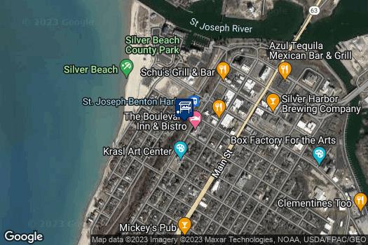 Location Map for St. Joe Farmers Market