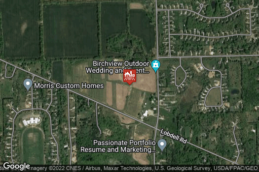 Location Map for Mueller's Orchard and Cider Mill