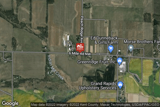 Location Map for Ed Dunneback & Girls Farm Market