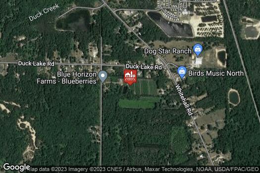 Location Map for Blue Horizon Farms LLC