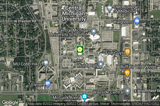Location Map for Michigan Geographic Alliance