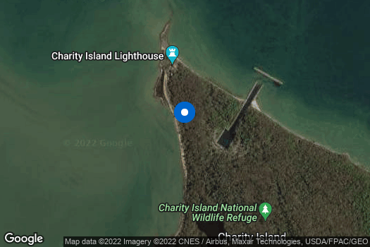 Location Map for Charity Island Project