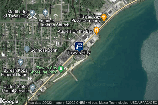 Location Map for Northeast Michigan Regional Farm Market-Tawas City