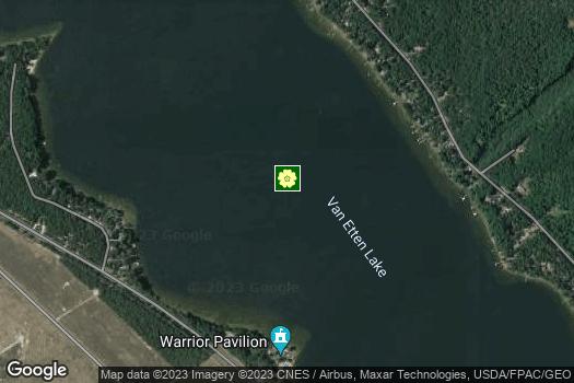Location Map for Pine River Van Etten Lake (PRVEL) Watershed Coalition