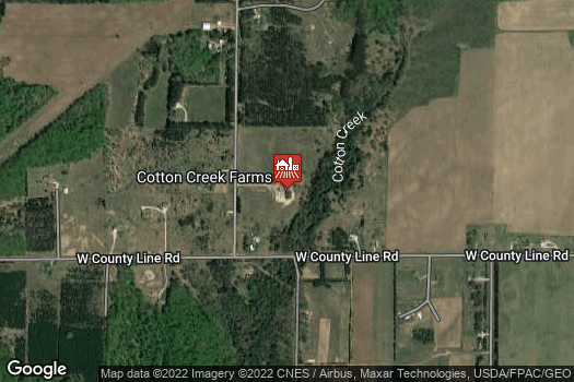 Location Map for Cotton Creek Farms