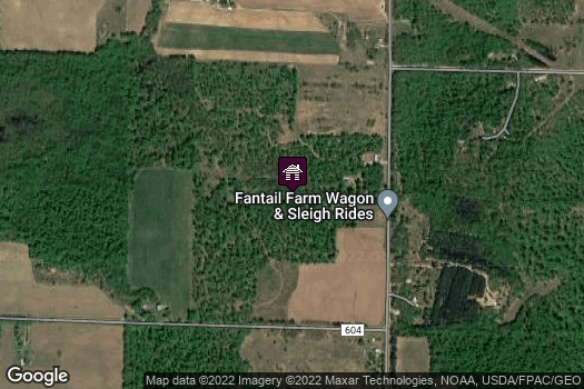Location Map for Fantail Farm LLC